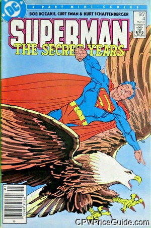 superman the secret years 4 cpv canadian price variant image