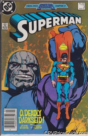superman vol 2 3 cpv canadian price variant image