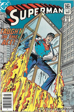 superman 383 cpv canadian price variant image