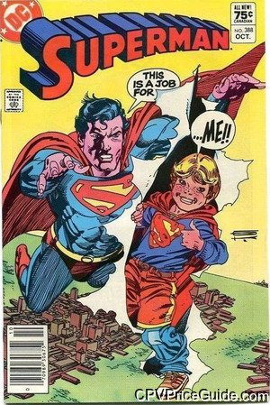 superman 388 cpv canadian price variant image