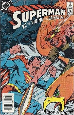 superman 394 cpv canadian price variant image