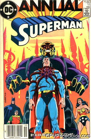 Superman Annual #11 $1.60 Canadian Price Variant Comic Book Picture