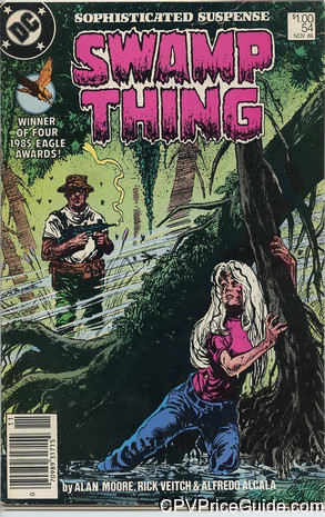 swamp thing 54 cpv canadian price variant image
