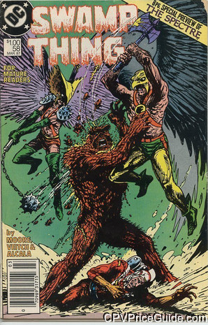 swamp thing 58 cpv canadian price variant image