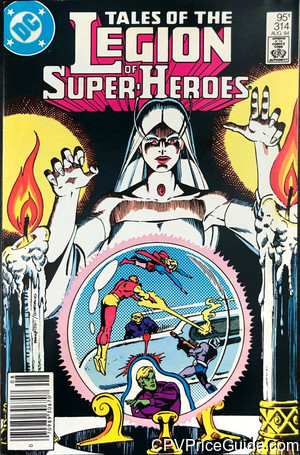 tales of the legion of super heroes 314 cpv canadian price variant image