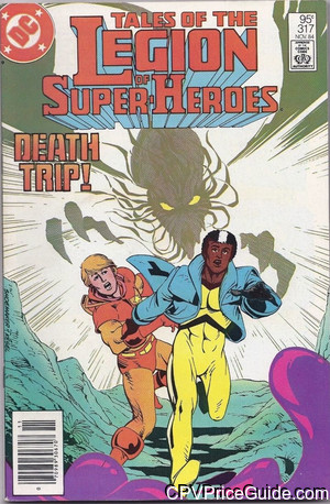 tales of the legion of super heroes 317 cpv canadian price variant image