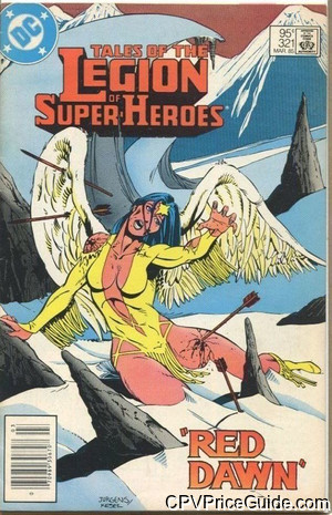tales of the legion of super heroes 321 cpv canadian price variant image