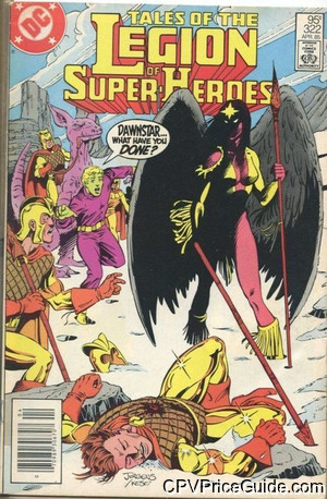 tales of the legion of super heroes 322 cpv canadian price variant image
