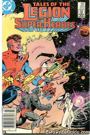 Tales of the Legion of Super-Heroes #325 95¢ Canadian Price Variant Comic Book Picture