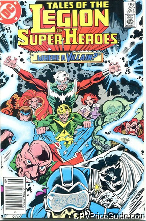tales of the legion of super heroes 327 cpv canadian price variant image