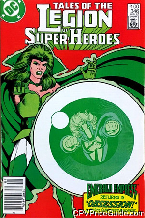 tales of the legion of super heroes 346 cpv canadian price variant image