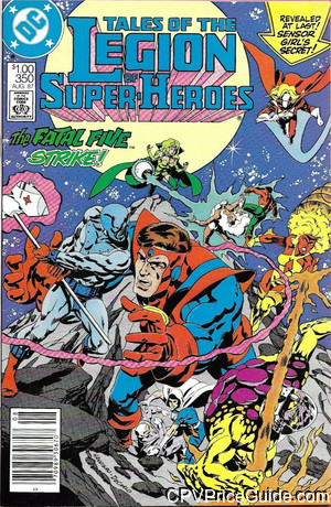 Tales of the Legion of Super-Heroes #350 $1.00 Canadian Price Variant Comic Book Picture