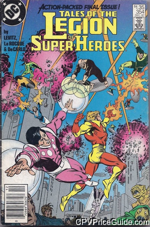 tales of the legion of super heroes 354 cpv canadian price variant image