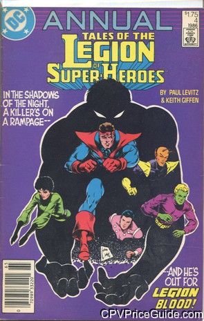 tales of the legion of super heroes annual 4 cpv canadian price variant image