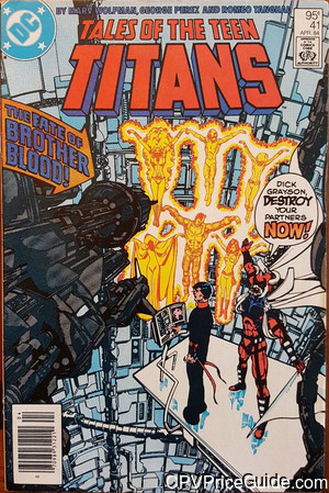 tales of the teen titans 41 cpv canadian price variant image