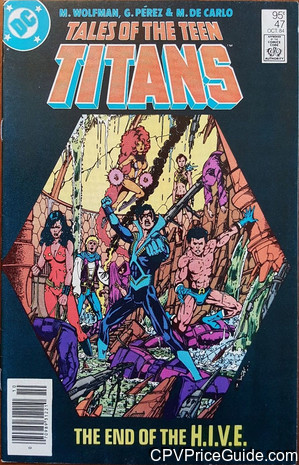 tales of the teen titans 47 cpv canadian price variant image