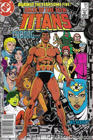 tales of the teen titans 57 cpv canadian price variant image
