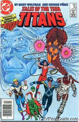 tales of the teen titans 60 cpv canadian price variant image