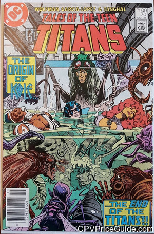 tales of the teen titans 70 cpv canadian price variant image
