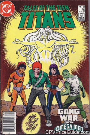 Tales of the Teen Titans #75 $1.00 Canadian Price Variant Comic Book Picture