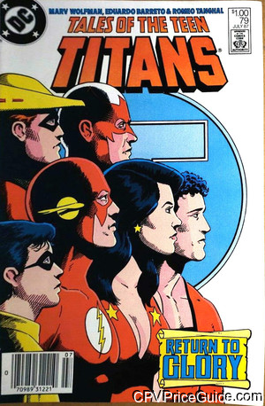 tales of the teen titans 79 cpv canadian price variant image