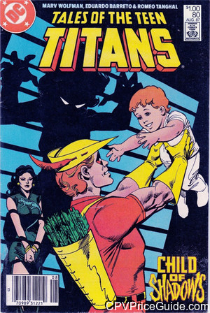 tales of the teen titans 80 cpv canadian price variant image