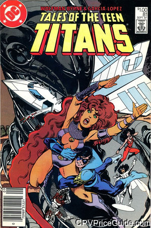 tales of the teen titans 81 cpv canadian price variant image