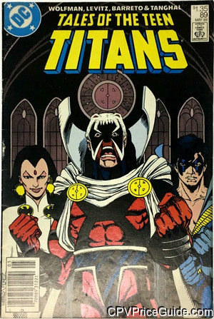 tales of the teen titans 89 cpv canadian price variant image