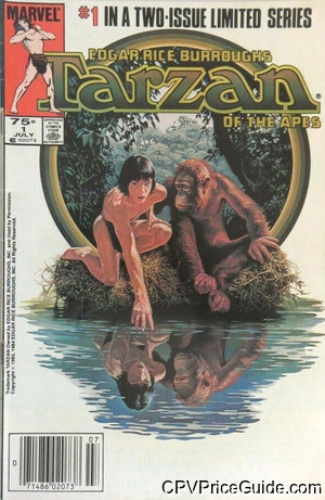 tarzan of the apes 1 cpv canadian price variant image