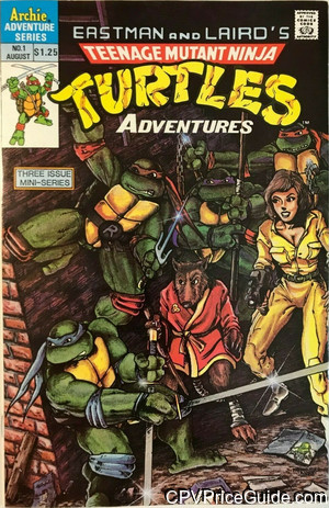teenage mutant ninja turtles adventures mini series 1b cpv canadian price variant image