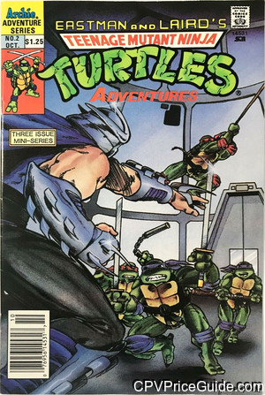 teenage mutant ninja turtles adventures mini series 2 cpv canadian price variant image