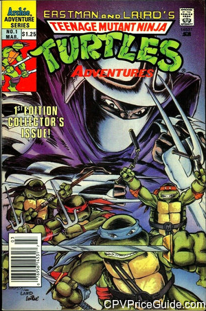 teenage mutant ninja turtles adventures 1 cpv canadian price variant image