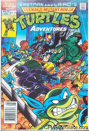 teenage mutant ninja turtles adventures 13 cpv canadian price variant image
