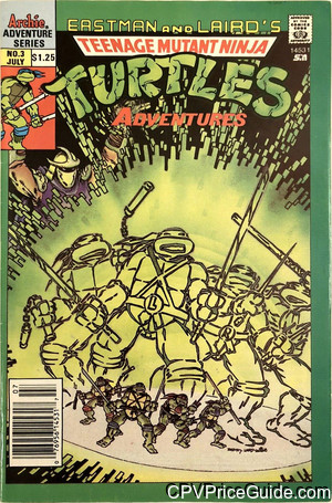 teenage mutant ninja turtles adventures 3 cpv canadian price variant image
