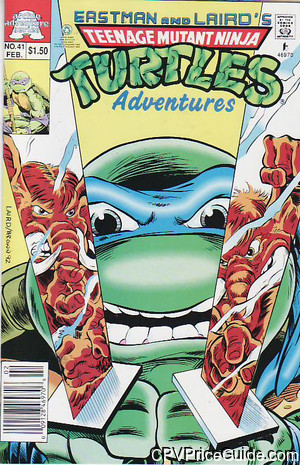 teenage mutant ninja turtles adventures 41 cpv canadian price variant image