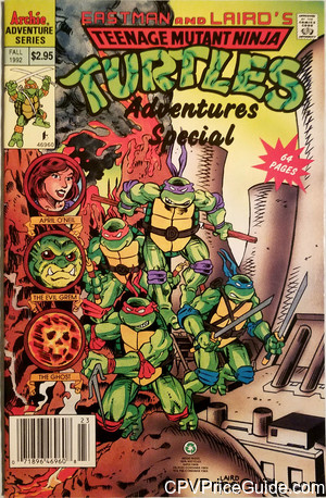 teenage mutant ninja turtles adventures special edition 2 cpv canadian price variant image