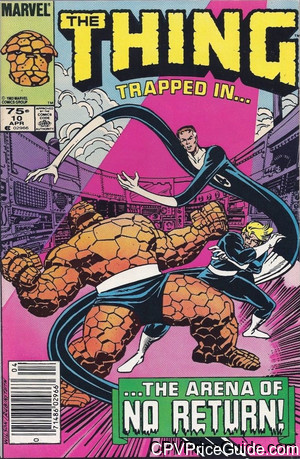 Thing #10 75¢ Canadian Price Variant Comic Book Picture