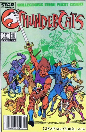 ThunderCats #1 75¢ Canadian Price Variant Comic Book Picture
