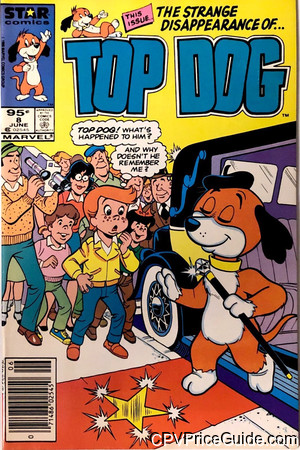 Top Dog #8 95¢ Canadian Price Variant Comic Book Picture