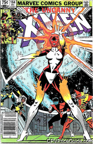 uncanny x men 164 cpv canadian price variant image