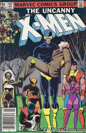 uncanny x men 167 cpv canadian price variant image