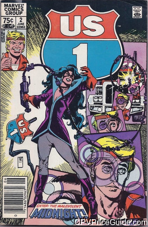 U.S. 1 #2 75¢ Canadian Price Variant Comic Book Picture