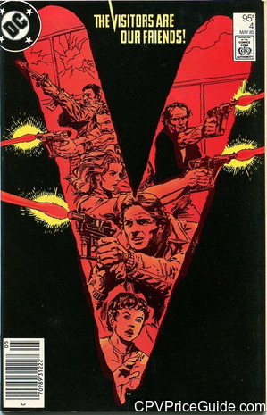 V #4 95¢ Canadian Price Variant Comic Book Picture