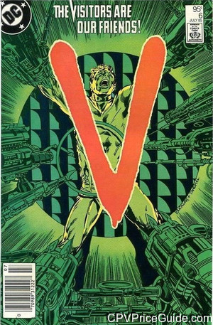 V #6 95¢ Canadian Price Variant Comic Book Picture