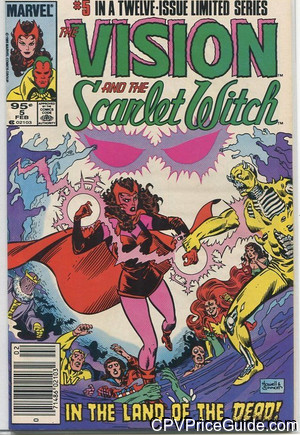vision and scarlet witch vol 2 5 cpv canadian price variant image