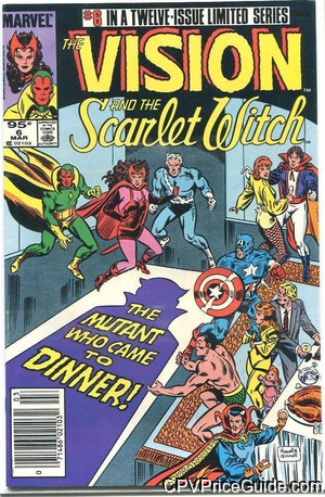 vision and scarlet witch vol 2 6 cpv canadian price variant image