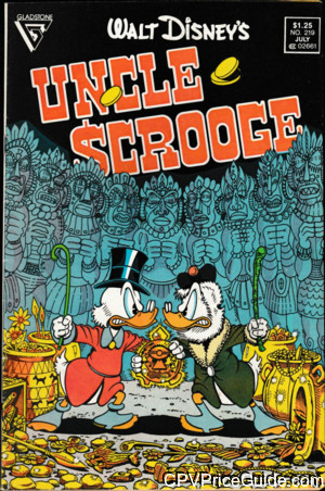 walt disneys uncle scrooge 219 cpv canadian price variant image