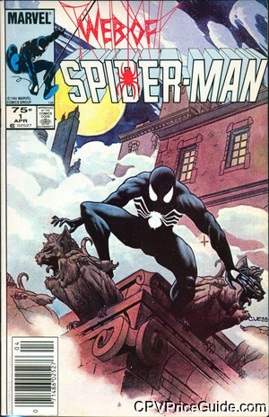 Web of Spider-Man #1 75¢ CPV