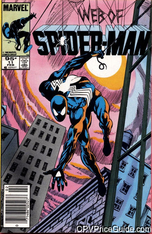 web of spider man 11 cpv canadian price variant image