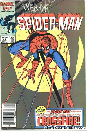 web of spider man 14 cpv canadian price variant image